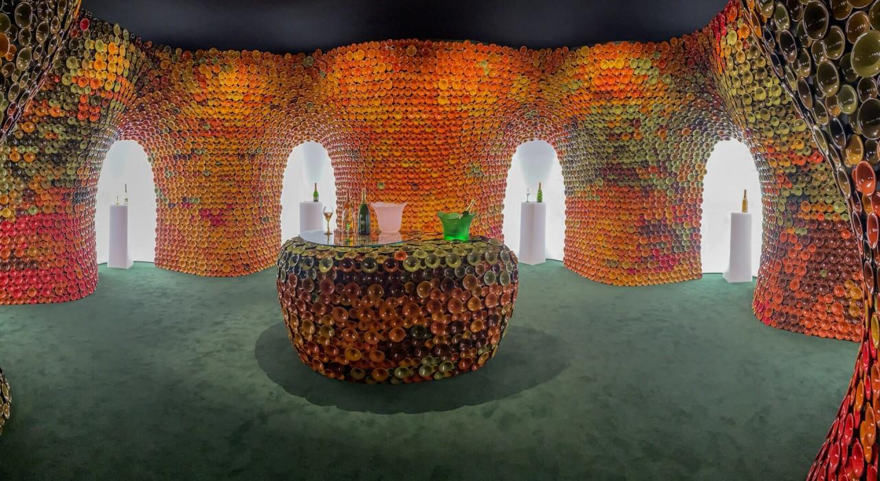 Perrier Jouet – wystawa Design Miami